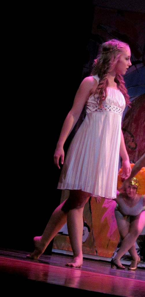I fell in love with the dress Clarice wore during the second act's dream sequence. I love a Grecian vibe!
