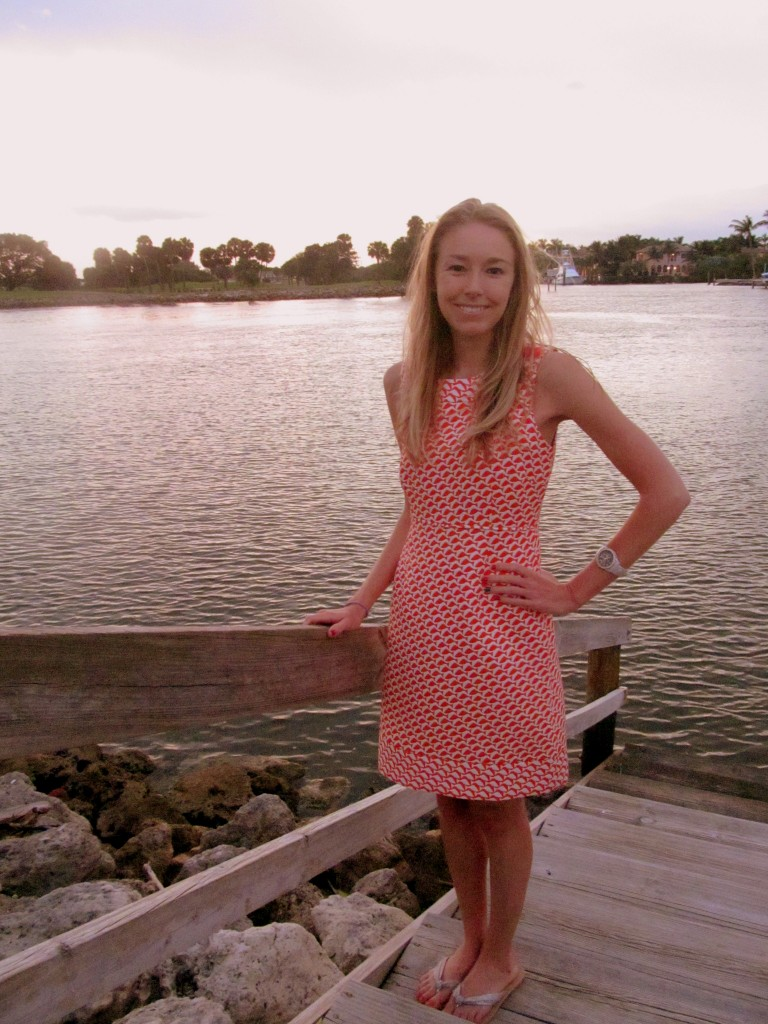 The famous Vineyard Vines dress, already has popped up a couple of times.
