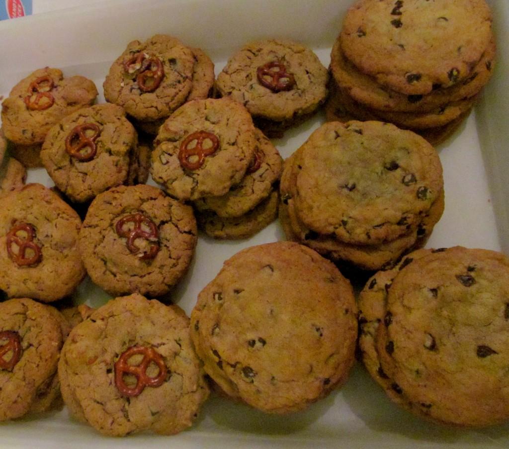 How genius are the pretzel cookies?!