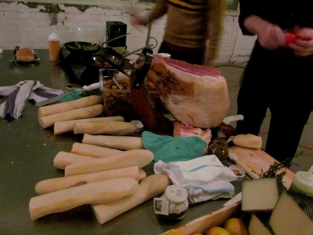 Ham bones galore!