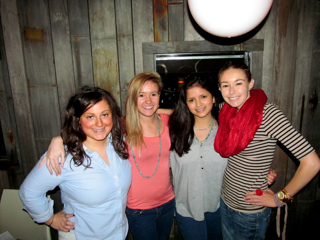 Julie, Kaleigh, Jill, Me