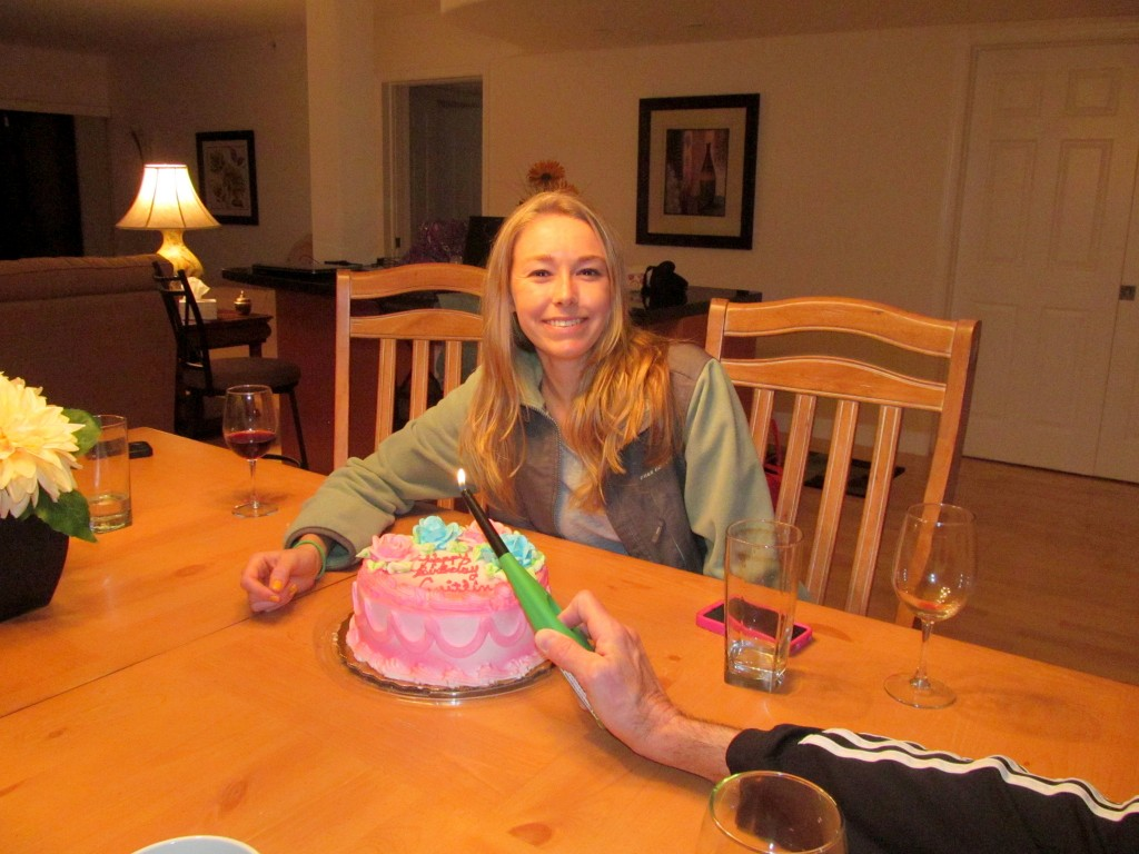"""Am I even """"hungry enough"""" to have this cake after I just ate dinner?"""