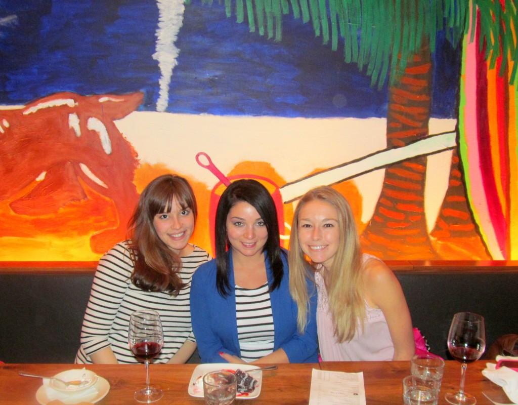 Lindsay, Corri, and me!