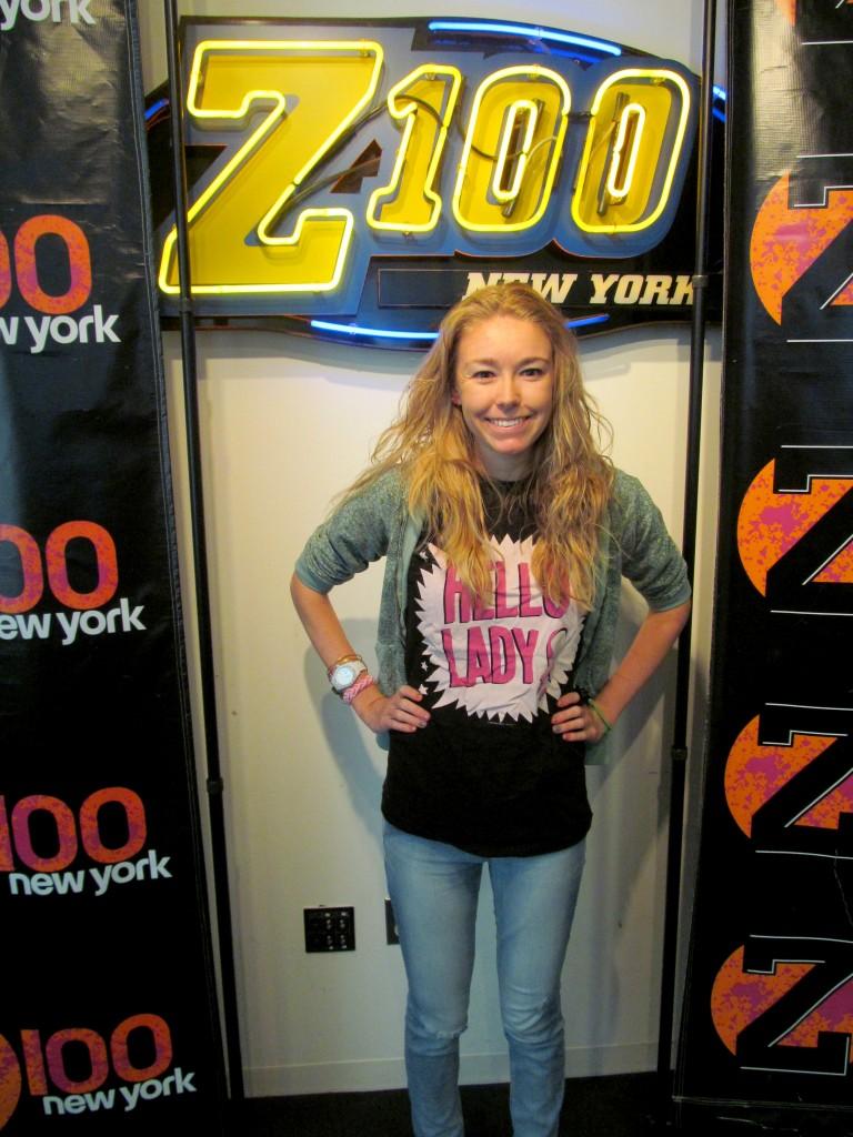 Hello Lady at Z100!