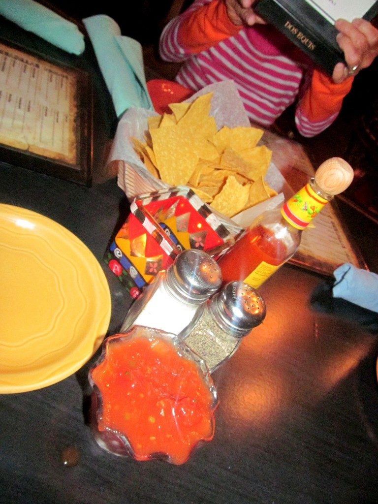 She was great about refilling the chips and salsa quickly - with my family, that's always desired.