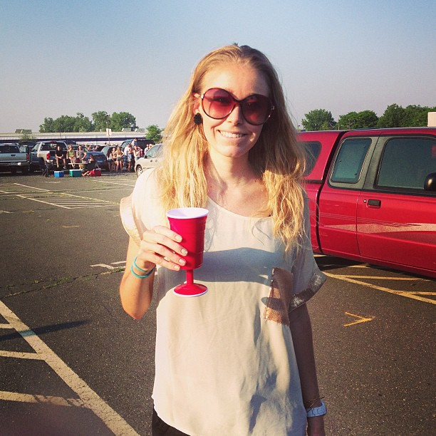"Tailgating the Luke Bryan concert on Friday was great fun, but I felt like I drank all night long and didn't keep ""track"" of my drinks enough."