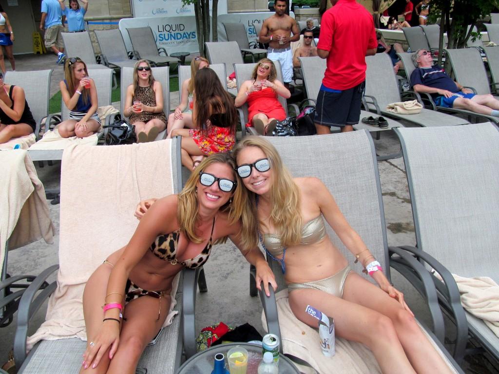 Douchey Liquid Sunday sunglasses!