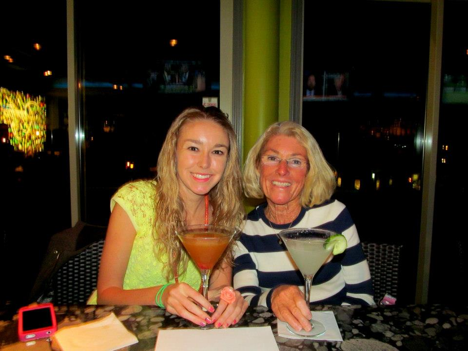 Thank you for your help Mom - and for buying me lots of martinis at Rooftop120 :P
