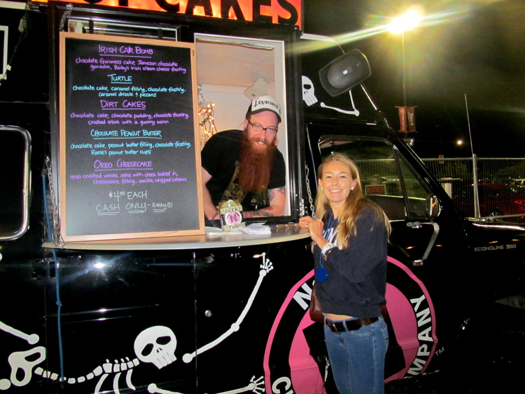 It's Ryan and the Nora Cupcake truck!