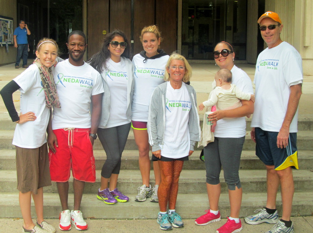 My 2013 Hartford NEDA Walk team!