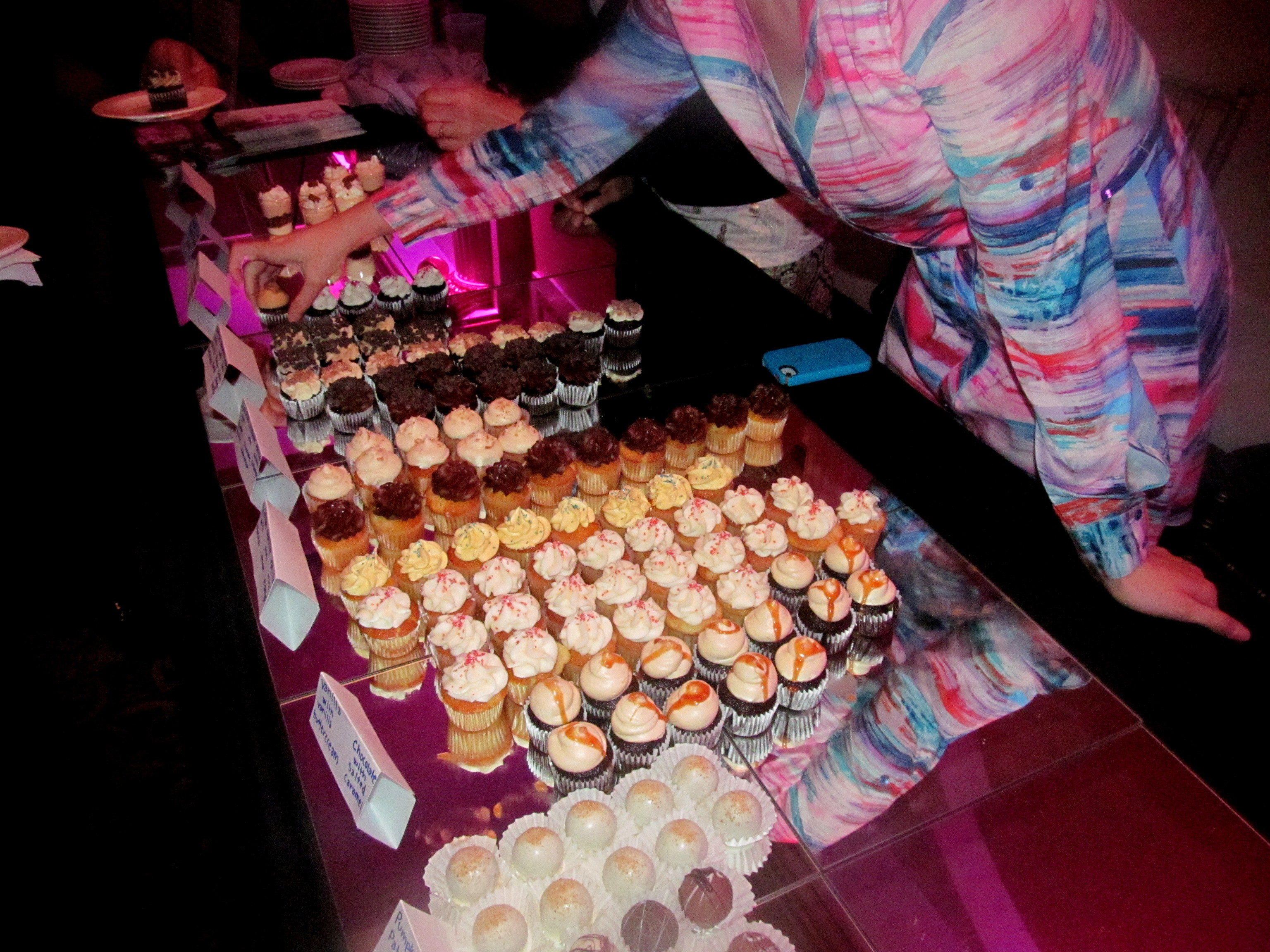 ALL THE CUPCAKES.