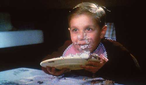 At least this wasn't how I ate mashed potatoes! (Guess that movie, anyone?)