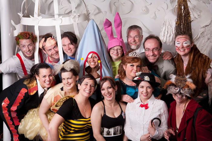 A group shot from last year's event...I spy my girl crush Chion Wolf!