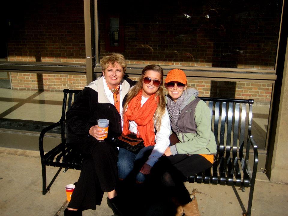 Nana Connie, Hannah, and I!