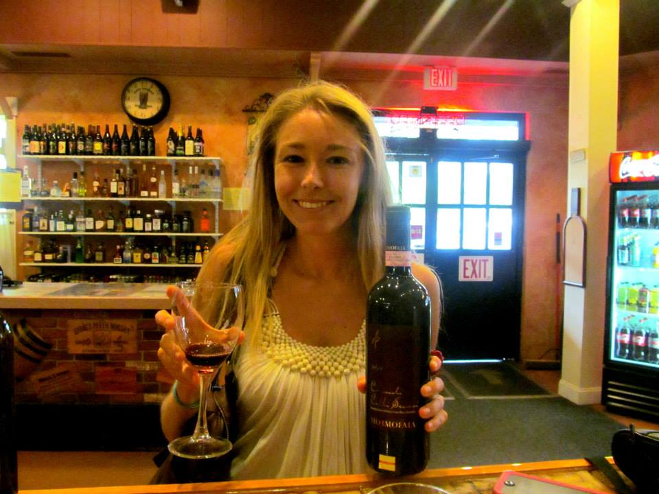 Wine tasting at my favorite local package store, Sonoma!