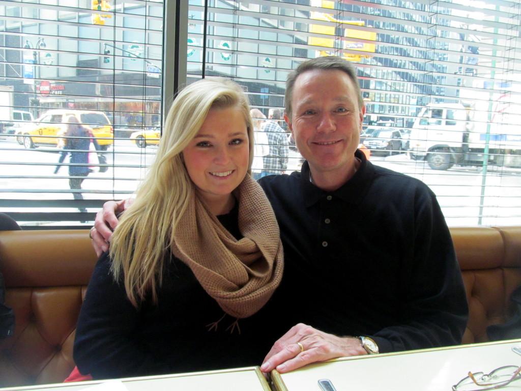 Hannah and Dad!