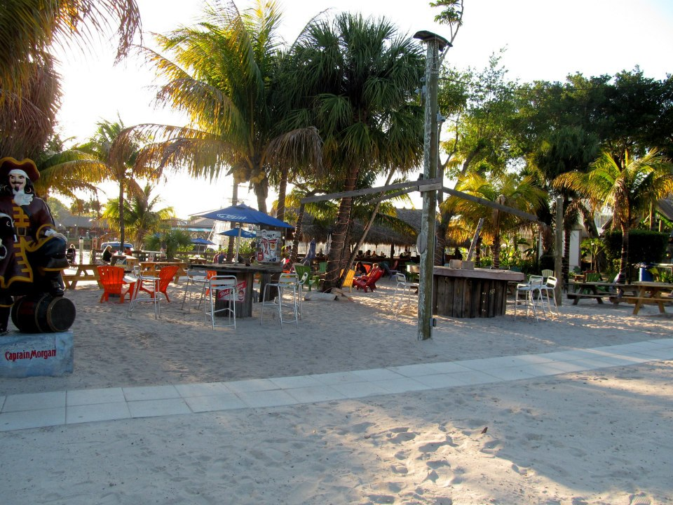With this outdoor rum bar within walking distance of the condo, how can I not sit in a beach chair and sip a marg?!