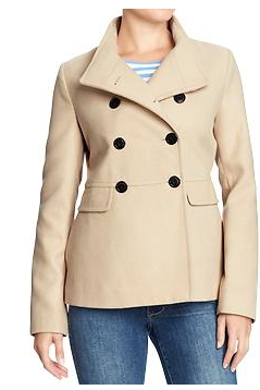 Cropped Pea Coat - I just got a new coat but couldn't resist this one which will go with so much, and it was about $15!