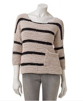 Rewind Striped Sweater - This is SO cozy!