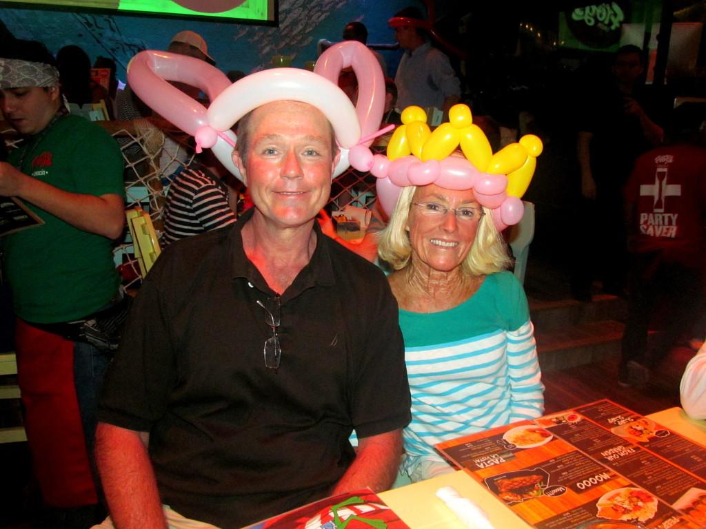 Aren't their hats marvelous?