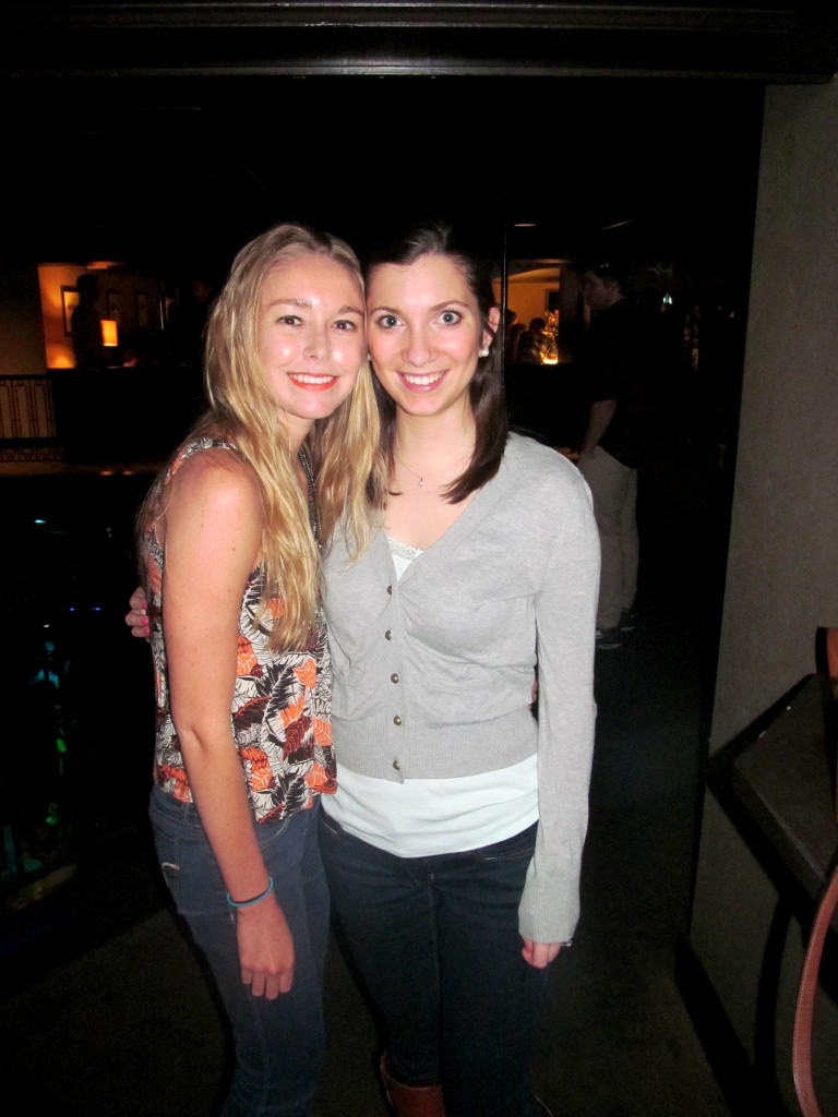 Me and Kristen!