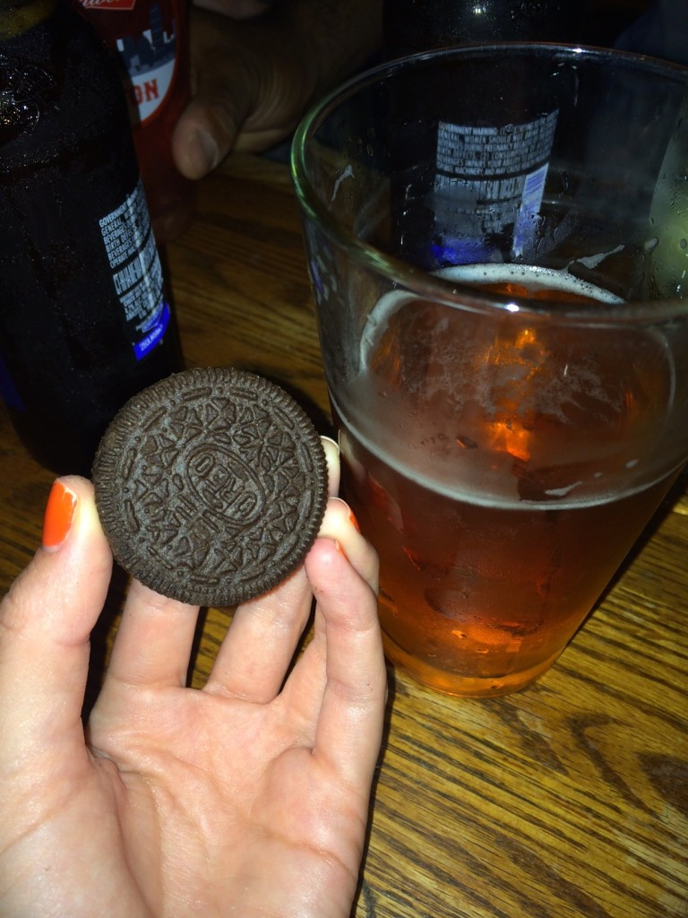 Oreos and beer were involved.