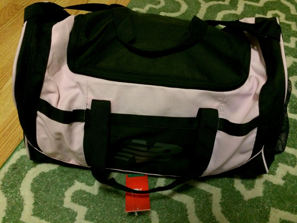 This is my NB bag when I first received it, but let's pretend it's my bag right now, already packed (yeah right).