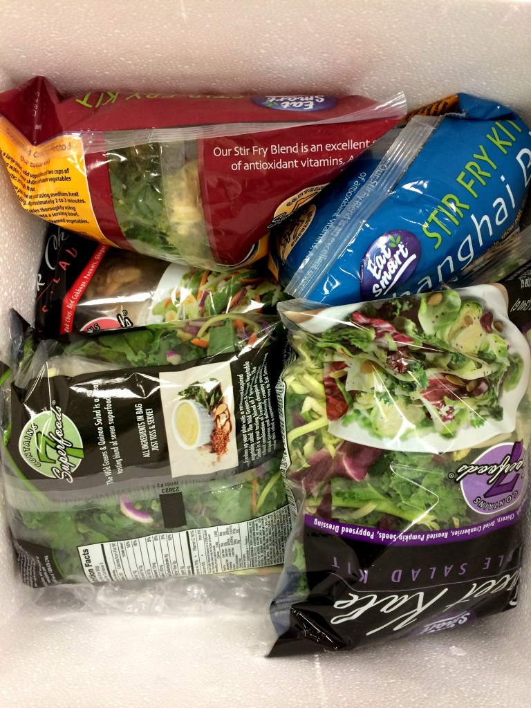 My coworkers were a bit befuddled when a cooler full of salads showed up to the office!