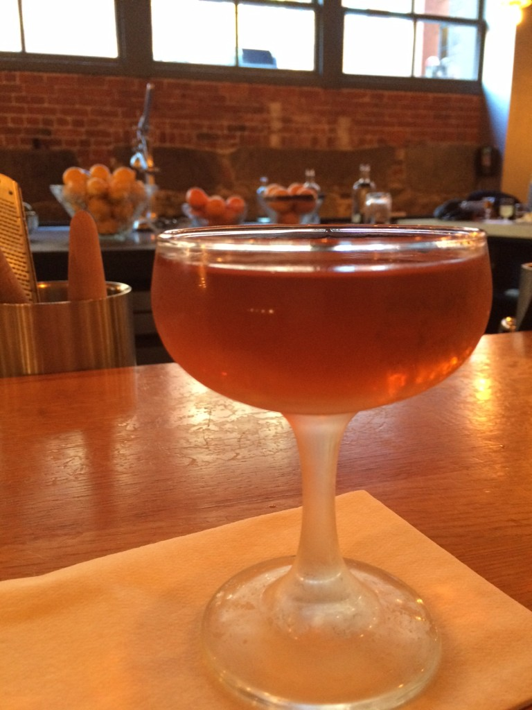 A delicious Brooklyn, at Drink!