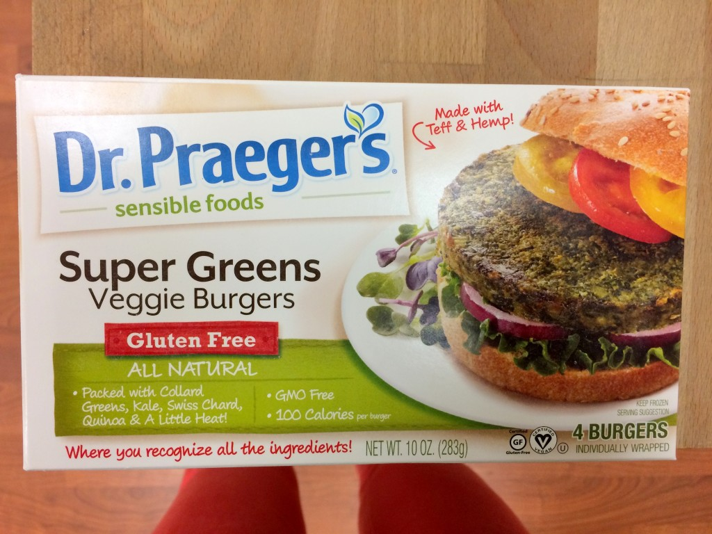 Dr  Praeger's Veggie Burger Zucchini Boats (GIVEAWAY