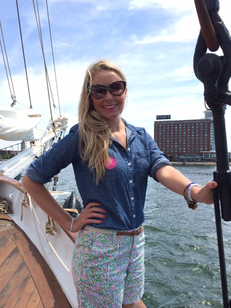Had to bust out the Lilly for a Sunday sail!