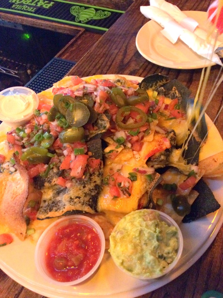 The nachos at Coogan's were worth the journey...of a few blocks.