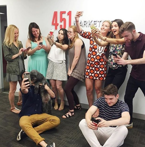 My team took over the 451 Marketing Instagram account last week...check it out!